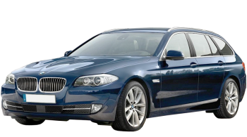 BMW 5-series Touring / Wagon / 5 doors / 2010-2012 / Front-left view