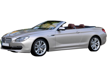 BMW 6-series Cabrio / Convertible / 2 doors / 2011-2012 / Front-left view