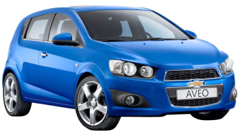 Chevrolet Aveo / Hatchback / 3 doors / 2008-2010 / Front-right view