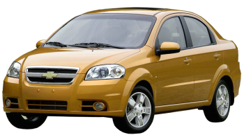 Chevrolet Aveo / Sedan / 4 doors / 2006-2012 / Front-left view