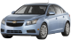 Chevrolet Cruze / Sedan / 4 doors / 2009-2012 / Front-left view