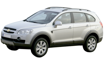 Chevrolet Captiva / SUV & Crossover / 5 doors / 2006-2012 / Front-left view