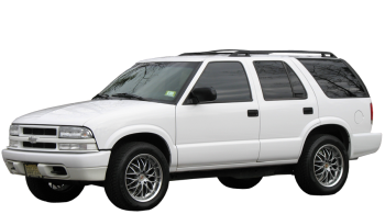 Chevrolet Blazer Wagon / SUV & Crossover / 5 doors / 1998-2001 / Front-left view