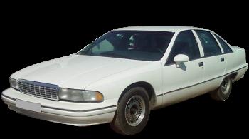 Chevrolet Caprice / Sedan / 4 doors / 1991-1994 / Front-left view