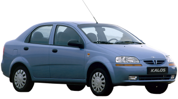 Chevrolet Kalos / Sedan / 4 doors / 2005-2008 / Front-right view
