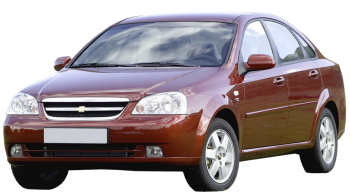 Chevrolet Nubira / Sedan / 4 doors / 2005-2009 / Front-left view