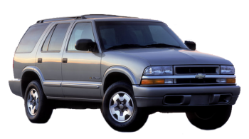 Chevrolet Blazer / SUV & Crossover / 5 doors / 1995-1997 / Front-right view