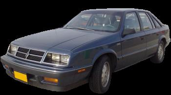 Chrysler GTS / Hatchback / 5 doors / 1988-1990 / Front-left view