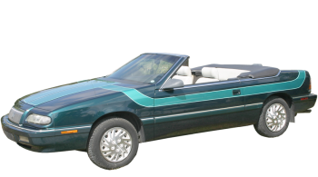 Chrysler Le Baron Convertible / Convertible / 2 doors / 1988-1995 / Front-left view