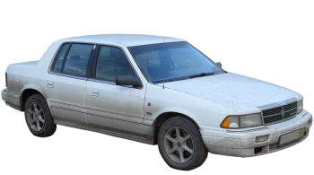 Chrysler Saratoga / Sedan / 4 doors / 1989-1995 / Front-right view