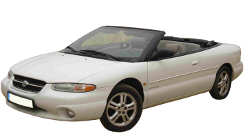 Chrysler Stratus Convertible / Convertible / 2 doors / 1996-2001 / Front-left view