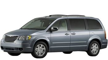 Chrysler Voyager / Minivan / 5 doors / 2008-2008 / Front-left view