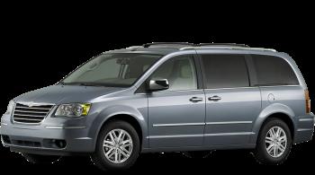 Chrysler Voyager / Minivan / 5 doors / 2008-2008 / Front-left view