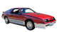 Chrysler Daytona / Coupe / 3 doors / 1992-1993 / Front-right view
