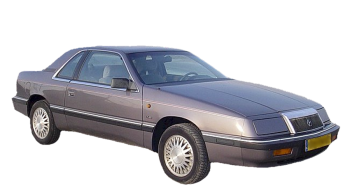 Chrysler Le Baron Coupe / Coupe / 2 doors / 1988-1993 / Front-right view