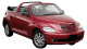Chrysler PT Cruiser Cabrio / Convertible / 2 doors / 2004-2010 / Front-right view