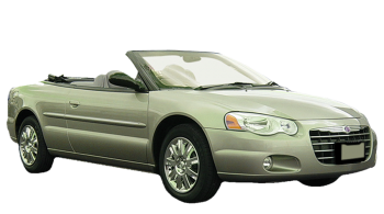 Chrysler Sebring Cabrio / Convertible / 2 doors / 2004-2006 / Front-right view