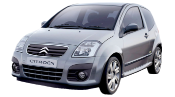 Citroen C2 / Hatchback / 3 doors / 2003-2010 / Front-left view