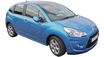 Citroen C3 / Hatchback / 5 doors / 2009-2012 / Front-right view