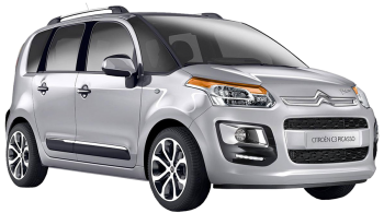 Citroen C3 Picasso / Minivan / 5 doors / 2009-2012 / Front-right view