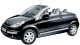 Citroen C3 Pluriel / Convertible / 2 doors / 2003-2010 / Front-left view