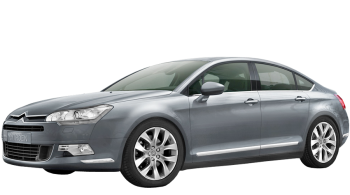 Citroen C5 / Sedan / 4 doors / 2008-2012 / Front-left view
