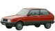 Citroen Axel / Hatchback / 3 doors / 1985-1989 / Front-left view