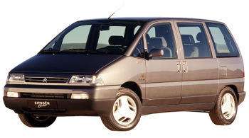 Citroen Evasion / Minivan / 5 doors / 1994-2002 / Front-left view