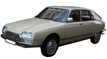 Citroen GSA / Hatchback / 5 doors / 1979-1985 / Front-left view