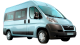 Citroen Jumper Combi / Bus / 4 doors / 2012-2012 / Front-right view