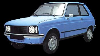 Citroen LNA / Sedan / 4 doors / 1978-1984 / Front-left view