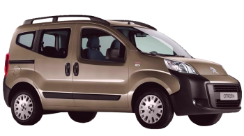 Citroen Nemo Multispace / Minivan / 5 doors / 2009-2009 / Front-right view