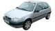 Citroen Saxo / Hatchback / 3 doors / 1996-2003 / Front-left view
