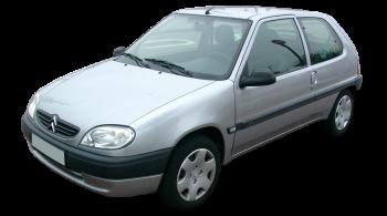 Citroen Saxo / Hatchback / 3 doors / 1996-2003 / Front-left view