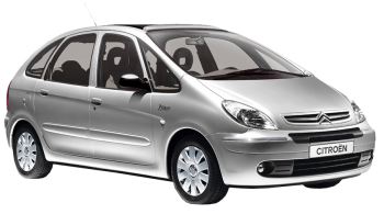 Citroen Xsara Picasso / Minivan / 5 doors / 2000-2011 / Front-right view