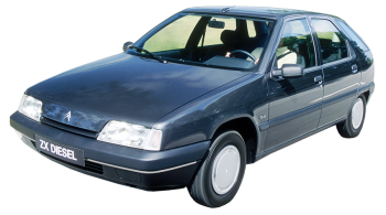 Citroen ZX / Hatchback / 5 doors / 1991-1997 / Front-left view