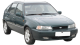Daewoo Nexia / Hatchback / 5 doors / 1995-1997 / Front-right view