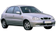 Daewoo Lanos / Hatchback / 5 doors / 1997-2003 / Front-right view