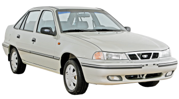Daewoo Nexia / Sedan / 4 doors / 1995-1997 / Front-right view