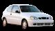 Daewoo Lanos / Hatchback / 3 doors / 1997-2003 / Front-right view