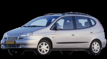 Daewoo Tacuma / Minivan / 5 doors / 2000-2004 / Front-left view