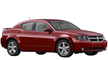 Dodge Avenger / Sedan / 4 doors / 2007-2010 / Front-right view