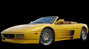 Ferrari 348 Spider / Convertible / 2 doors / 1993-1995 / Front-left view