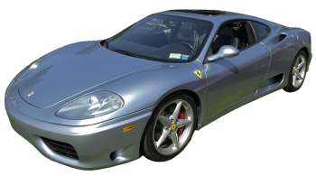 Ferrari 360 Modena / Coupe / 2 doors / 1999-2005 / Front-left view