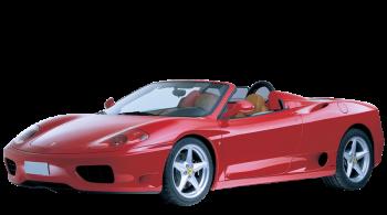 Ferrari 360 Spider / Convertible / 2 doors / 2000-2005 / Front-left view