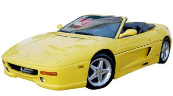 Ferrari F355 Spider / Convertible / 2 doors / 1995-2000 / Front-left view