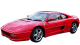 Ferrari F355 / Coupe / 2 doors / 1994-1999 / Front-left view