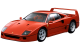 Ferrari F40 / Coupe / 2 doors / 1988-1992 / Frone-left view