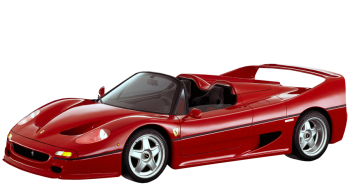 Ferrari F50 / Coupe / 2 doors / 1995-1998 / Front-left view