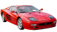 Ferrari F512 M / Coupe / 2 doors / 1994-1996 / Front-right view